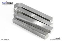 Бериллий металлический 99,9+% (72х7х5мм бруски)