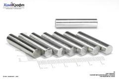 Гафний металлический, пруток Ф=8мм, 99.8%