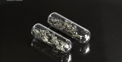 Европий металлический, дендриты. Ампулы под аргоном, 99.99% (нетто 1 грамм)