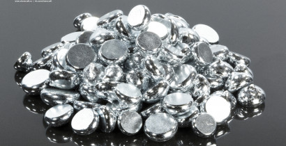 Галлий металлический гранулированный, 99,9997%