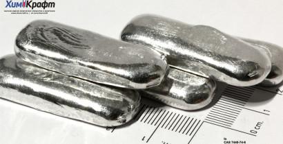 Индий металлический, 99,999% ИН-00