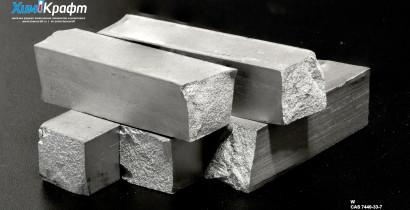 Вольфрам металлический штапик, 99,9%