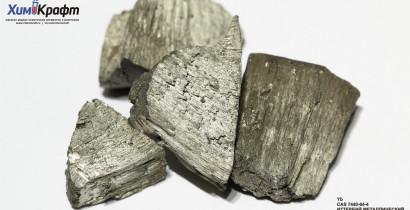 Иттербий металлический, дистиллированный. Дендриты. (99,9+%)