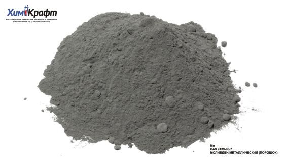 Молибден металлический, порошок (99,9+%)