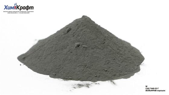 Вольфрам металлический, порошок