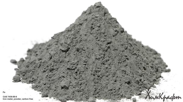 Железо карбонильное обезуглероженное, 99,995%