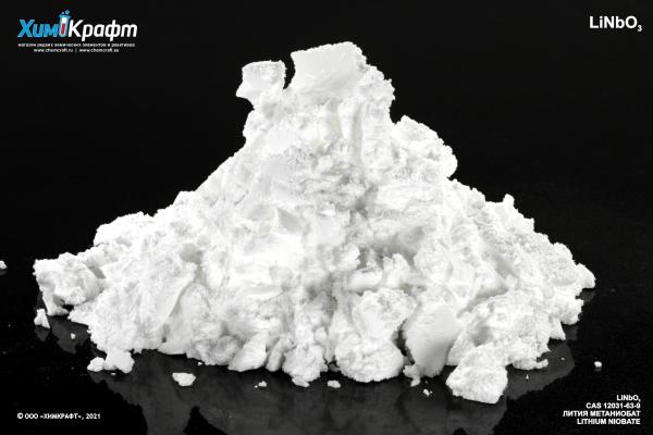 Лития метаниобат, 99.9% (осч 10-2)